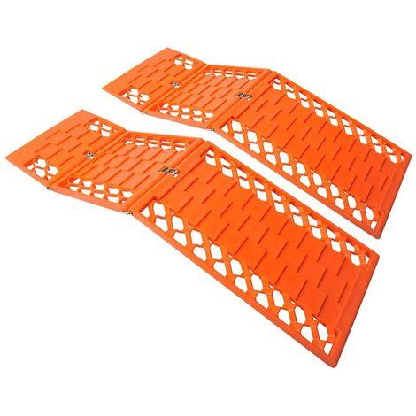 Anti slip mat foldable set of 2 pieces
