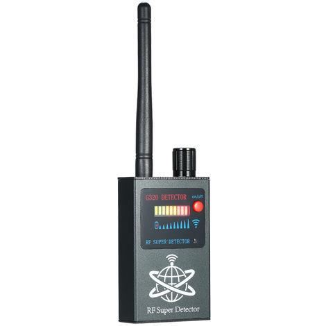 Anti-Spy Bug RF inalambrico detector de senal de radio detectores de camara Deteccion automatica del GPS Buscador de camara para la deteccion de la camara oculta Eavesdropping Candid video Tracker GPS