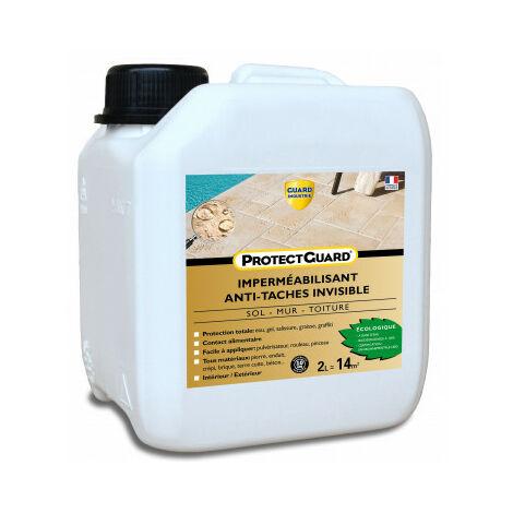Anti taches sols poreux, matériaux poreux - ProtectGuard 2L ou 5L