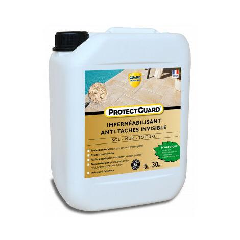 Anti taches sols poreux, matériaux poreux - ProtectGuard 5L