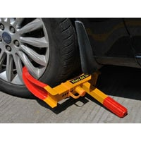 "Anti theft Heavy Duty Wheel Lock Clamp Car/Van/Caravan/Trailer 7 to 11"" Tires UK"