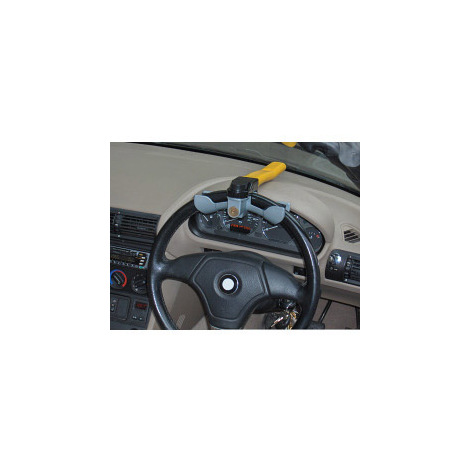Streetwize SWRL Steering Wheel Lock Rotary Yellow