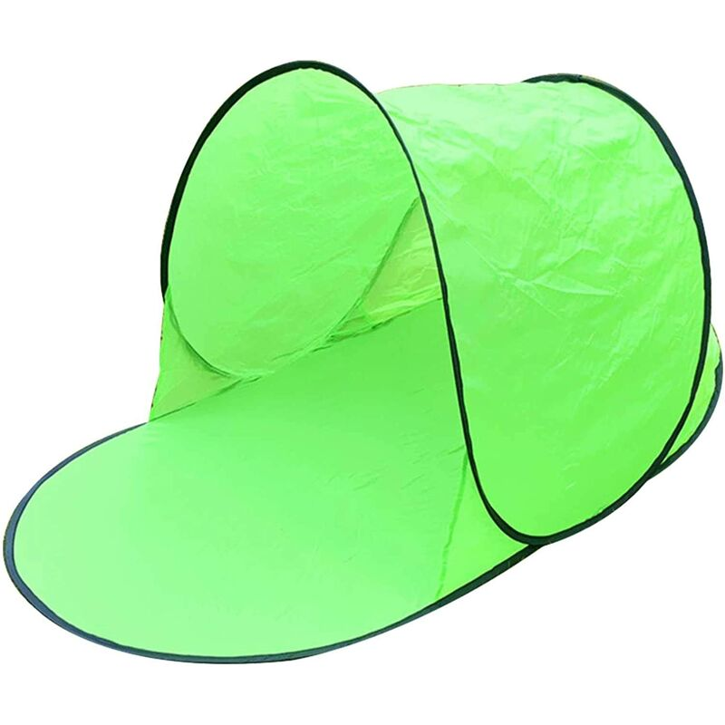 Anti UV Beach Tent, Integrated Baby Beach Shelter, Instant Pop Up Tent with UPF 50+ UV Sun Protection for 1 Person