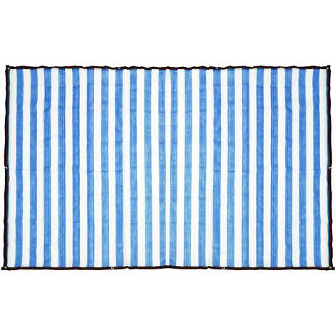 Anti-UV Sun Visor Net Cover 90% Blue 3 * 6m Shading Rate