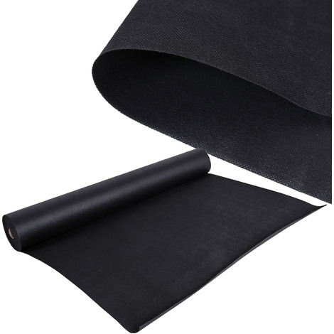 Anti Weed Protection Garden Fleece 40x1,5m 150g/m² black water resistant