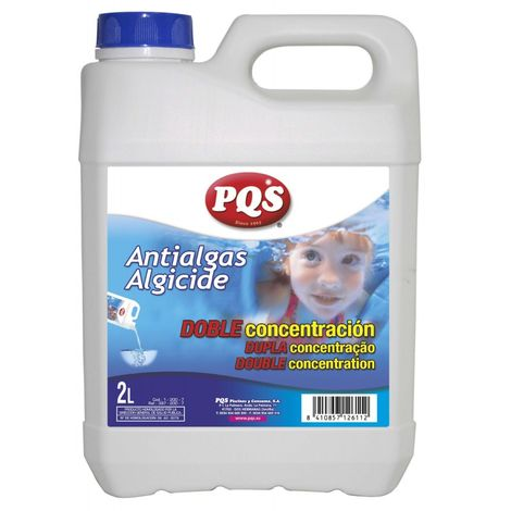 Antialgas doble concentración sin espuma PQS. Botella 2 Lt.