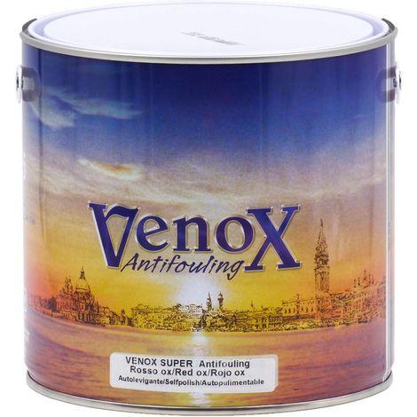 Antifouling auto-polissant Venox Super red Baseggio 2,5L