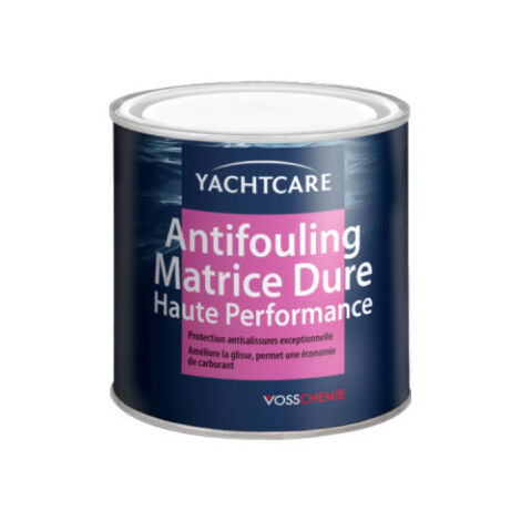 Antifouling high performance hard matrix YACHTCARE - red - 750ml