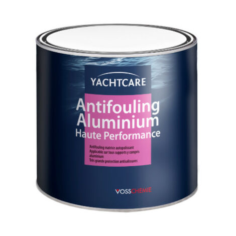 Antifouling special aluminium YACHTCARE - black - 2,5l
