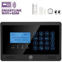 Antifurto Allarme Casa Wireless Internet Touchscreen 100