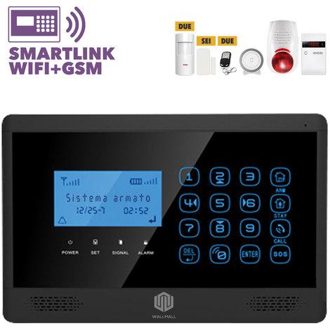 Antifurto Allarme Casa Wireless Internet Touchscreen 160
