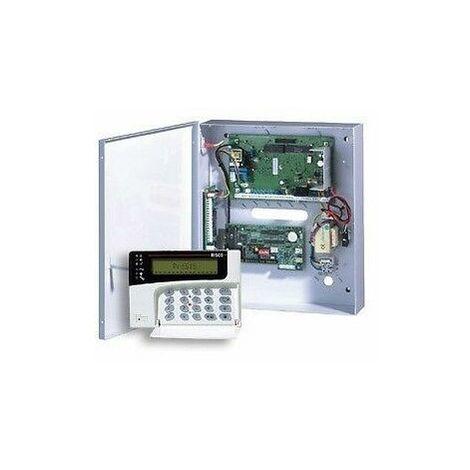 ANTIFURTO KIT CENTRALE PROSYS 8/40 ZONE ROKONET RISCO + TASTIERA LCD VERSIONE 7