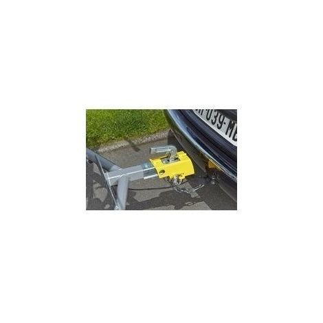 Chiave Luchetto ECD Germany Antifurto per Rimorchio Caravan Giunto in Acciaio Catena