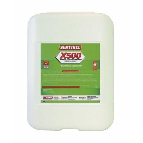 Antigel avec inhibiteur X500 20l - SENTINEL : X500L-20L-FR