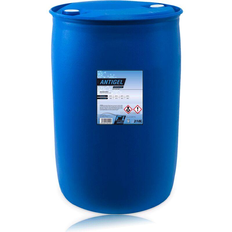 Antigel - Liquide de refroidissement mineral bleu - 210 L - FL'AUTO