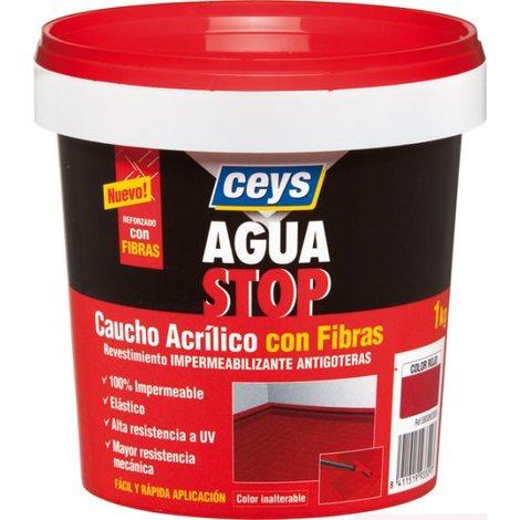 Antigoteras Caucho Color Terracota - AGUASTOP CEYS - 903310 - 1 KG