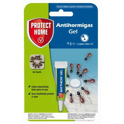 Antihormigas cebo en gel contra hormigas para interiores, rápida acción y muy atractivo, 4 gr