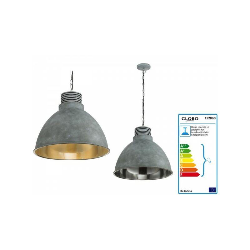 GLOBO TAGABO Hängeleuchte klassisch Metall grau 15289G-'60836501'