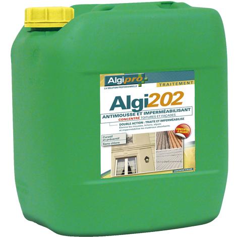 Algi 202 15l Antimousse Toiture Mur Facade 058002 Algipro 37878823075333