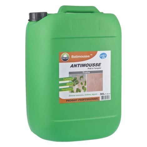 Antimousse Préventif/Curatif DALEP Bidon de 30 Litres BATIMOUSTE PE - 130 030