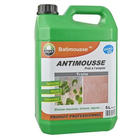 Antimousse Préventif/Curatif DALEP Bidon de 5 Litres BATIMOUSTE PE - 130005