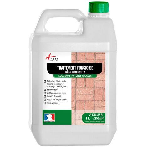 Fongicide - Anti dépot vert - Formule ULTRA CONCENTRE - ARCANE INDUSTRIES - Liquide- Transparent - 1 L (jusqu a 250m²)