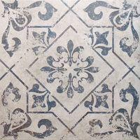Antique Vintage Blue Floor Tiles - 450x450x9.5mm