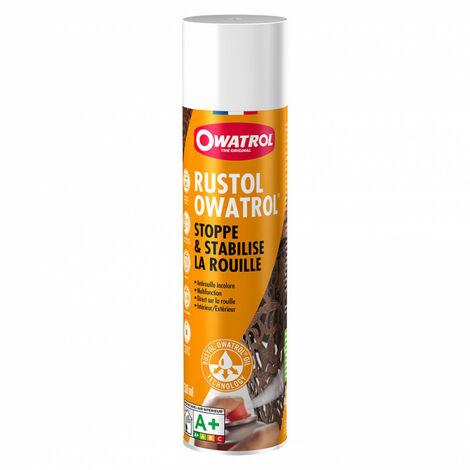 Antirouille incolore 300ml RUSTOL-OWATROL - Quantité: 1 aérosol de 300 ml