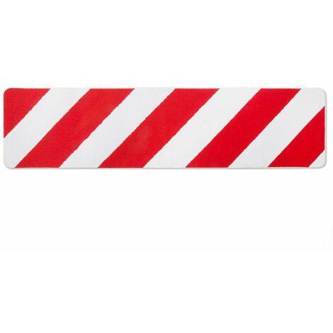 Antirutschband Klebeband 50mm Rot Weiss Selbstklebend Treppen Streifen Warnband