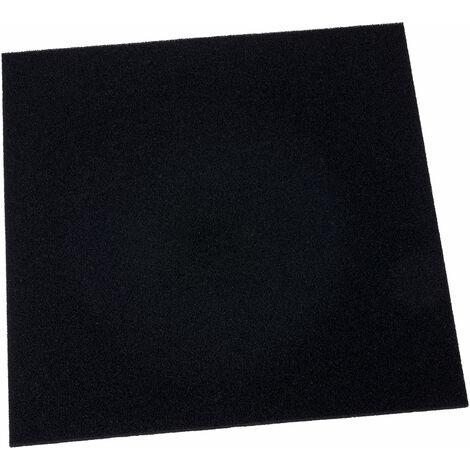 Antistat 038-0016 Black Conductive H/D Foam 305 x 305 x 6mm