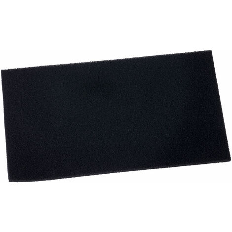 Antistat 038-0100 Black Conductive H/D Foam 127 x 228 x 6mm