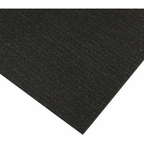 Antistat 082-0002F2 Black Conductive Mat 700 x 500mm 4 x 10mm Studs