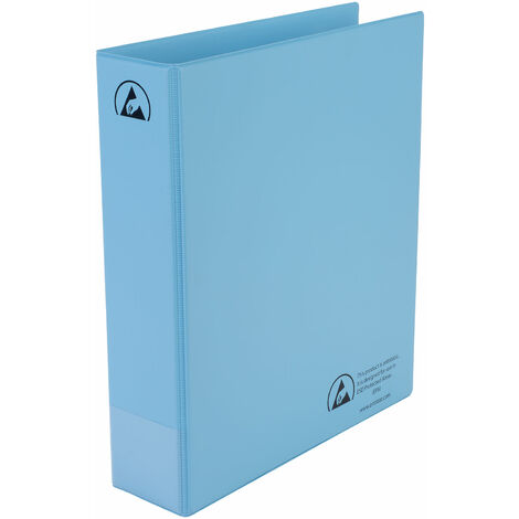 Antistat 105-0025 A4 Antistatic ESD Ring Binder 4 x 50mm Rings