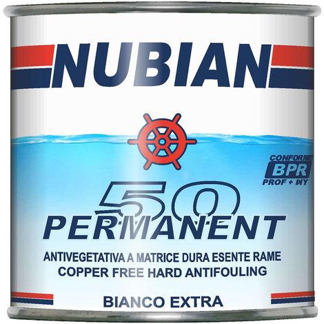 Antivegetativa a matrice dura esente rame bianco extra ml 750 nubian permanent 50