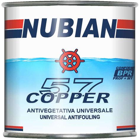 Antivegetativa copper 57 nera nubian 750 ml per barca