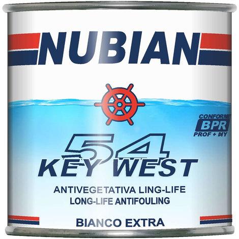 Antivegetativa key west 54 long-life a base rame bianco extra 750 ml nubian
