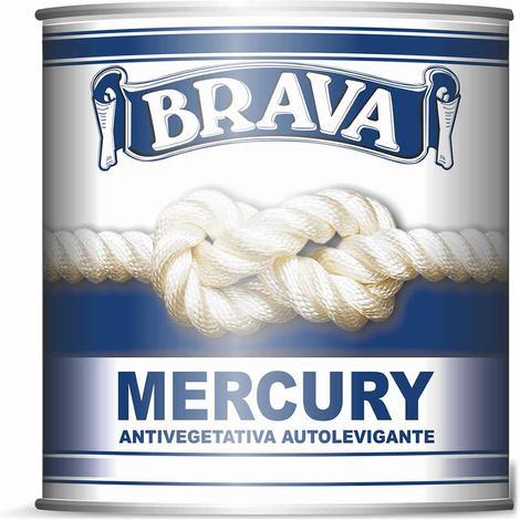 Antivegetativa mercury autolevigante blu ml 0,750 per barca