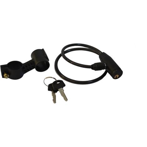 Antivol câble vélo 600 mm