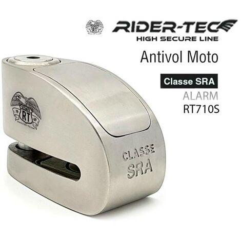 Antivol Moto Bloque Disque Sra Avec Alarme Rider-tec