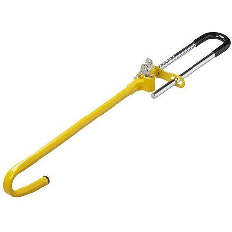Antivol pédale pour la pédale de frein avec deux clés
