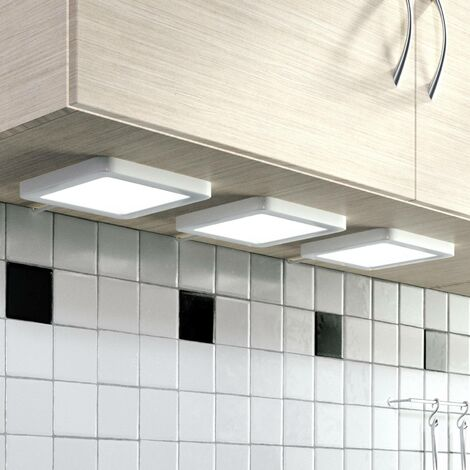 Antony LED under-cabinet light, set of 3