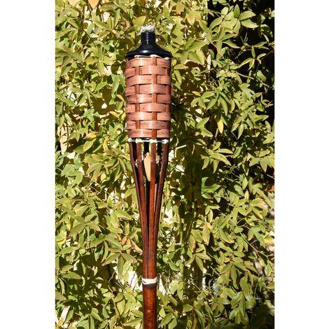 Antorcha Bambú con tapa Suelo - Faura