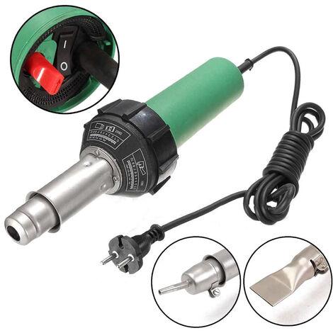 Antorcha de calor 1500W soldador de aire caliente de soldadura de aire caliente Soldador + Spare Calefaccion lement, 3 #