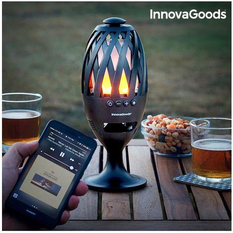 Antorcha LED con Altavoz Bluetooth InnovaGoods
