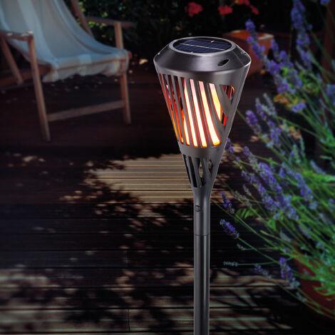 """main image of """"Antorcha solar LED con efecto llama para jardín esotec 102482"""""""