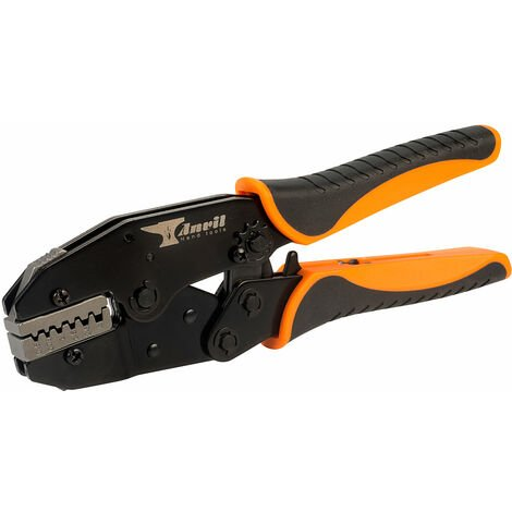 Anvil AV-CRMPD Ratchet Action Crimp Tool For 0.5 to 4.0mm² Bootlace Terminals