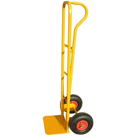 Anvil P Handle Sack Truck With Pneumatic Tyres