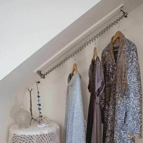 """main image of """"Any Angle Clothes Hanging Rail - Zebedee 60cm"""""""