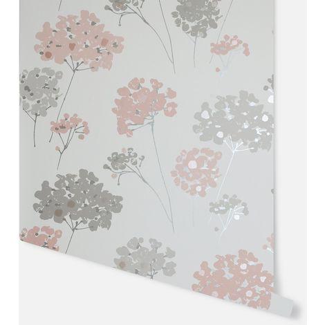 Anya Floral Blush Wallpaper - Arthouse - 907501