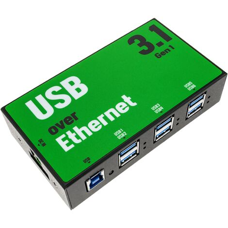AnyPlaceUSB - AnyPlaceUSB compartición de USB 3.1 SuperSpeed a través de red TCP/IP de 6 puertos
